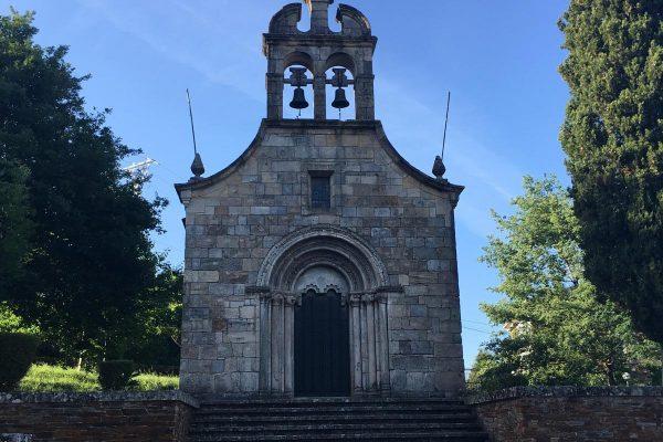 Portomarin iglesia